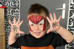 Kindergrime Spiderman Superhelden